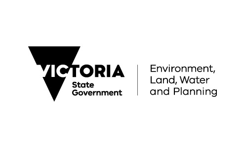 Logo for Victoria Dept Environment Land Water and Planning