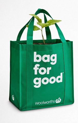 Woolworths bag for good