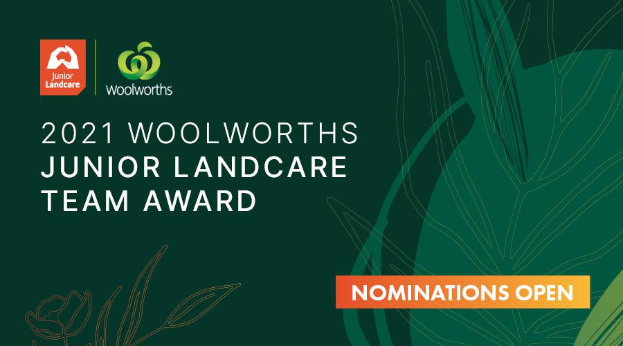 Junior Landcare Team Award banner