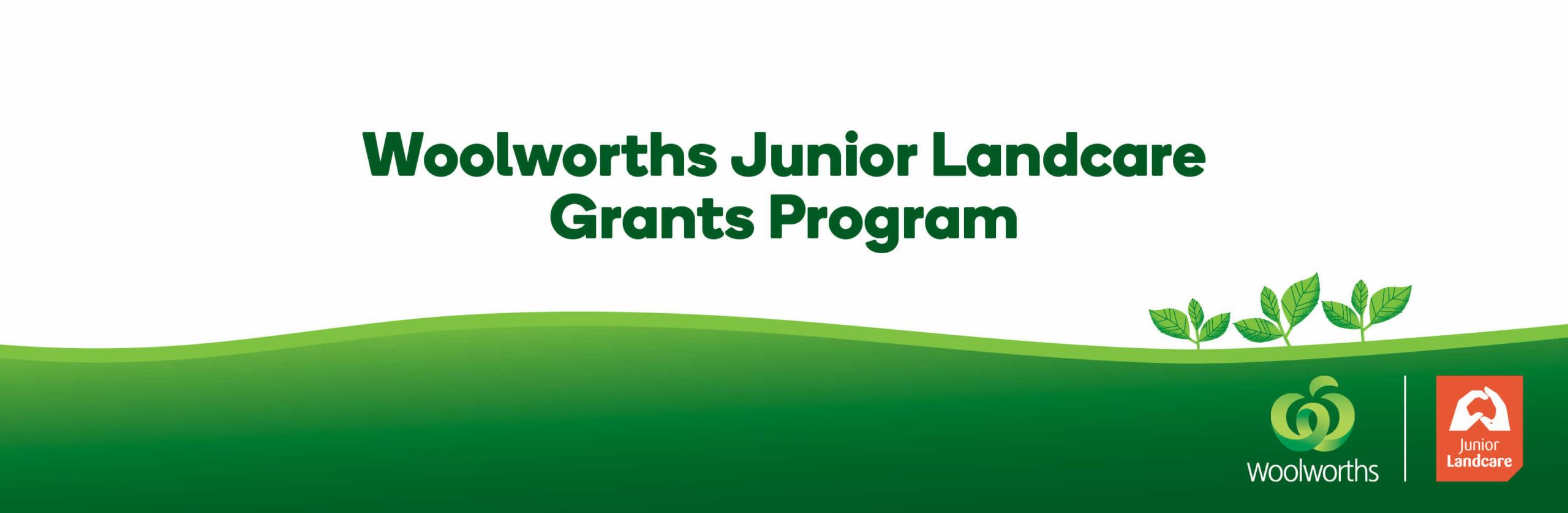 Woolworth's branding for JLC Grants program